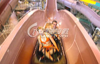 Multi Color Large Fiberglass Water Slides , Extreme Water Slides for entertainment