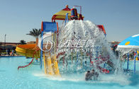 Fiberglass Spiral Water Slide , Kid's Water Playground for Commercial