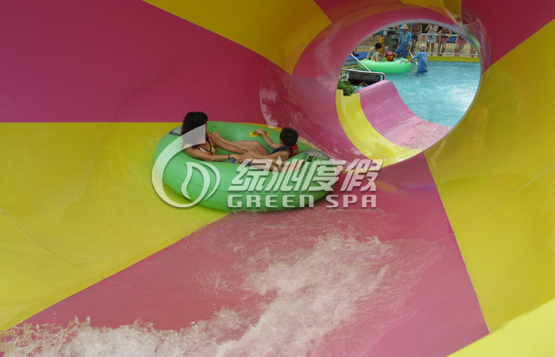 Children Exciting Raft Tornado Water Slide Aqua Play Water Park Summer Entertainment