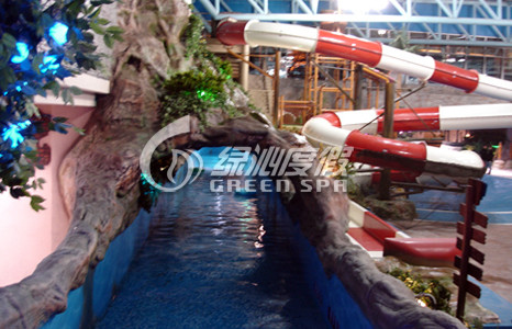Kids Adults Family Leisure Lazy River Pools Extreme River For Floating with Water Spray